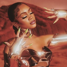 """Saweetie tells Bustle all about her new space-themed """"Made On Mars"""" collection with Sinful Colors, f..."""