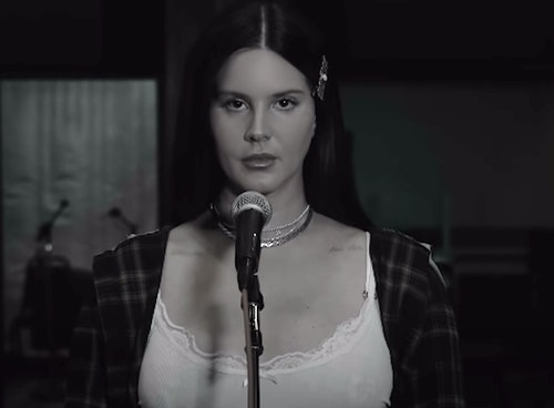 """Lana Del Rey Performs """"Arcadia"""" Live On Late Late Show With Colbert"""