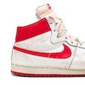 Michael Jordan Nike Air Ship Auction