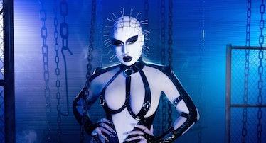Megan Thee Stallion as Pinhead from Hellraiser