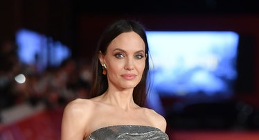 """Angelina Jolie attends the red carpet of the movie """"Eternals"""""""