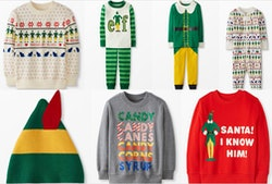The Hanna Andersson 'Elf' collection features pajamas for the whole family.