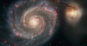 m51 galaxy and companion
