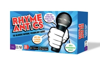 Rhyming game for kids