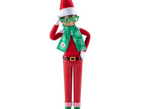 hipster elf on the shelf