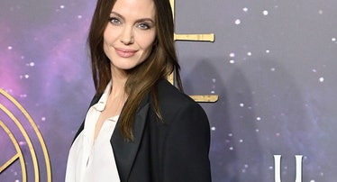 """Angelina Jolie attends the """"The Eternals"""" UK Premiere"""