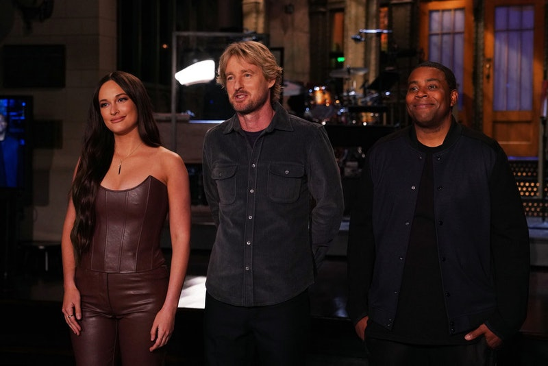 As the musical guest of the Oct. 2 return of 'Saturday Night Live,' Kacey Musgraves promoted her new...