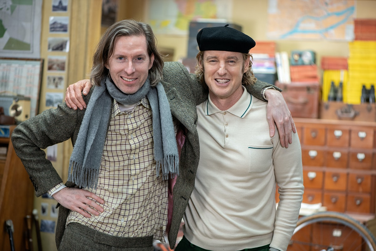 Wes Anderson and Owen Wilson, who first met in a creative writing class at the University of Texas, ...