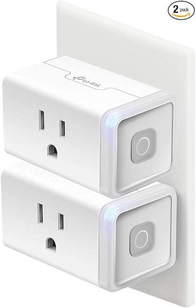Kasa Smart Mini Smart Plug (2-Pack)
