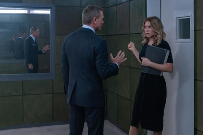 A still from 'Spectre' with James Bond (Daniel Craig) and a suspicious Madeleine (Léa Seydoux).