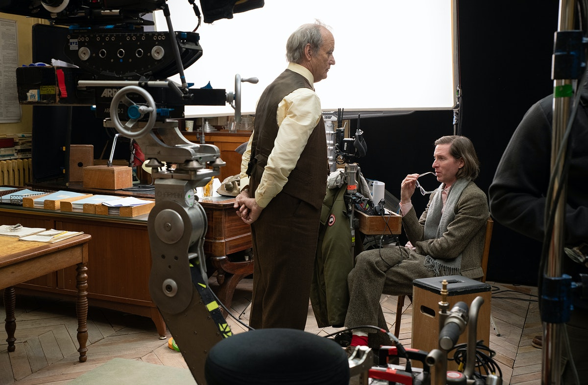 Wes Anderson and Bill Murray redefining a character's purpose.