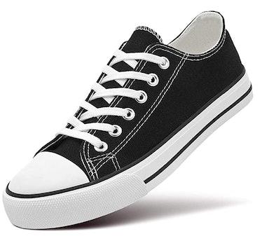 ZGR Women's Canvas Low Top Sneaker
