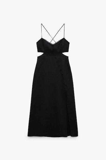 Zara Cutout Midi Dress