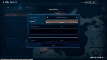 Final Fantasy Origin Multiplayer Room ID