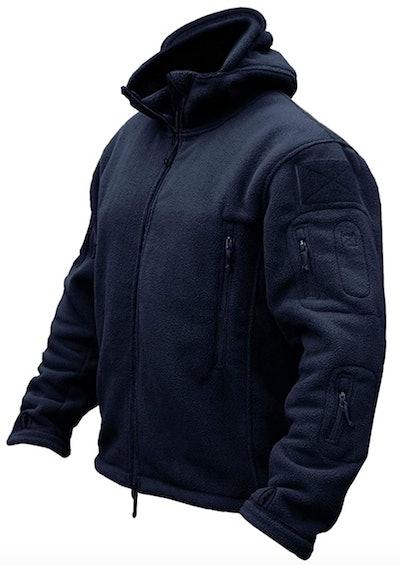 Warm Fleece Hooded Outdoor Jacket