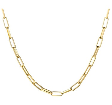 BOUTIQUELOVIN Paperclip Link  Necklace