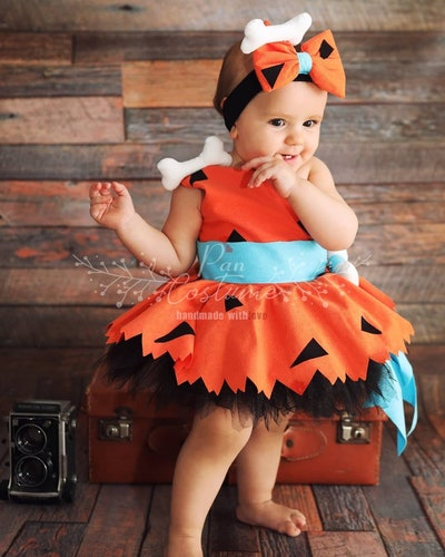Pebbles Costume for Baby