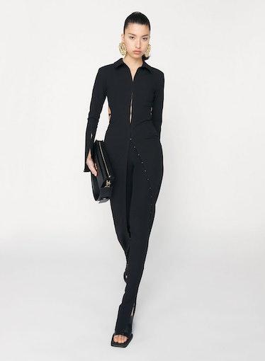 La Robe Obiou Dress Black Jacquemus