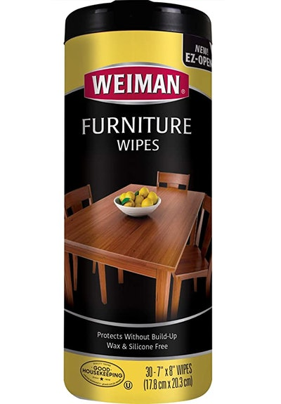 Weiman Wood Cleaner and Polish Wipes