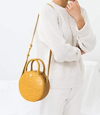 The Lovely Tote Co. Canteen Purse Circle Crossbody Bag