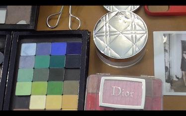dior makeup pallettes
