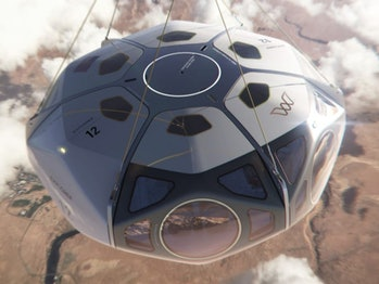 World View, a maker of stratospheric balloons, wants to create its own space tourism business.