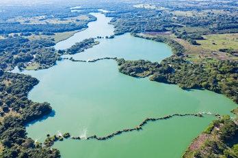San Pedro Mártir River in Tabasco, Mexico