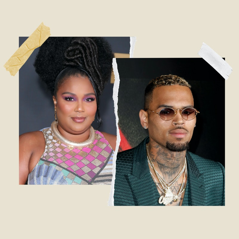 """Lizzo is facing backlash after calling Chris Brown her """"favorite"""" person"""