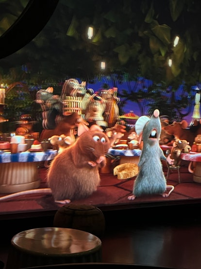 There are so many 'Ratatouille' Easter eggs in Disney World's Remy's Ratatouille Adventure.