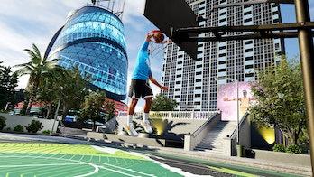 nba 2k22 city myplayer dunk