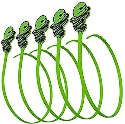 Green Gobbler Hair Grabber Drain Tool (5-Pack)