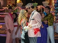 Joe Amabile and Serena Pitt dance together at 'Bachelor in Paradise' prom.