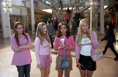 Mean Girls, Lindsay Lohan, Amanda Seyfried, Lacey Chabert, Rachel Mcadams