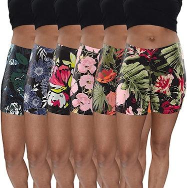 Sexy Basics Active Shorts (6-Pack)