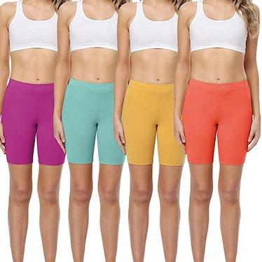 Wirarpa Cotton Shorts (4-Pack)
