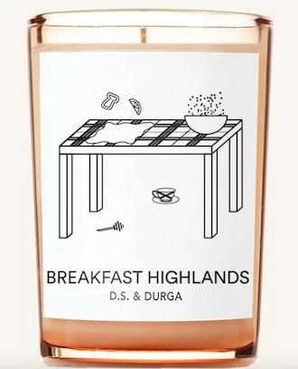 Breakfast Highlands Candle