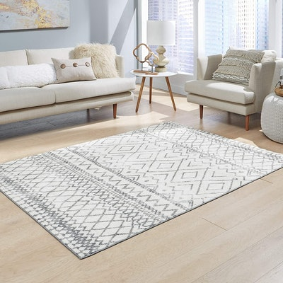 Maples Rugs Abstract Diamond Area Rug