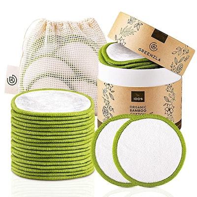 Greenzla Reusable Cotton Rounds (20 Pack)