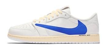 Travis Scott x Fragment Design Nike Air Jordan 1 Low sneaker