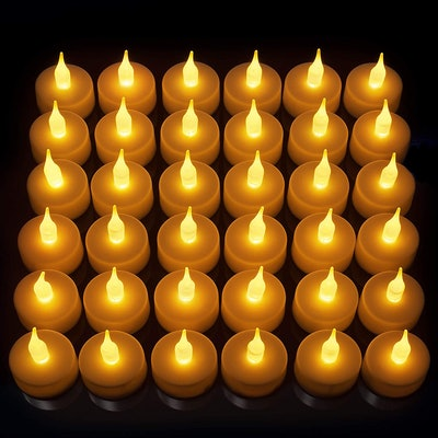 Vont Flameless LED Tealight Candles (24 Pack)