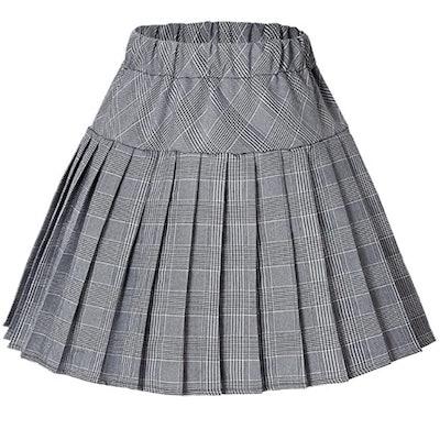 Urban Coco Elastic Waist Tennis Skirt