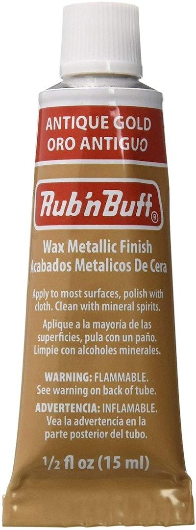 AMACO Rub 'N Buff Wax Metallic Finish