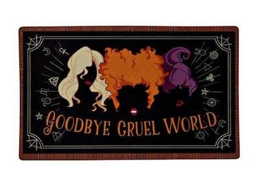 These Halloween doormats include 'Hocus Pocus' designs.