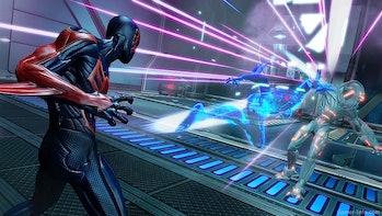 Spider-Man 2099 combat