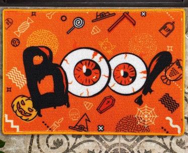 Boo Theme Halloween Doormat —Aneco