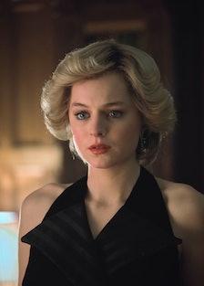 Emma Corrin as Princess Diana