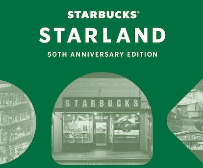 Here's how to play Starbucks' Starland 50th anniversary game.
