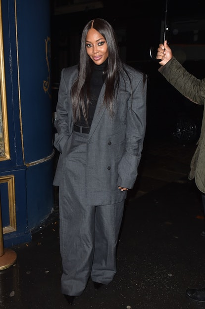 """Naomi Campbell is seen at """"Seventy One Gin"""" party during the Paris Fashion Week - Womenswear Spring/..."""