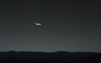 Earth, Mars
