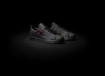 Adidas Skateboarding x Mark Gonzales black Schmoo Superstar ADV